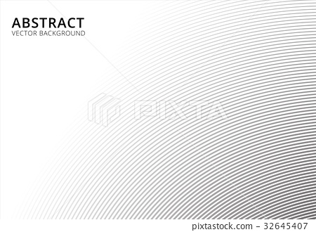 Abstract background striped curve line pattern 32645407