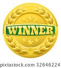 gold, winner, medal 32646224
