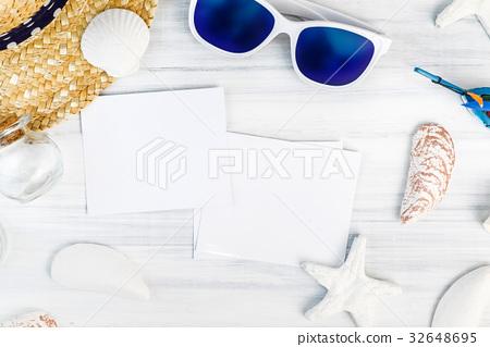 Summer Beach accessories table top 32648695