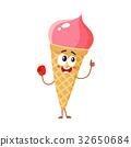 ice, cream, character 32650684