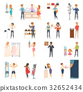 Trying Shop Flat People Icon Set 32652434