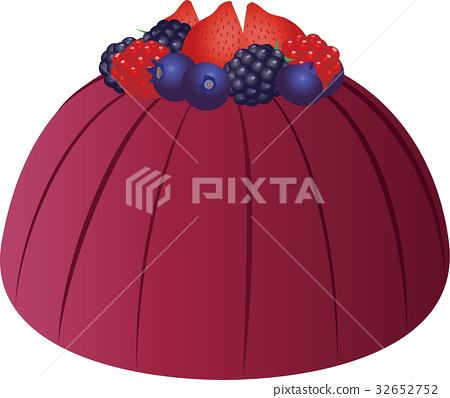 Summer pudding 32652752