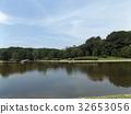 池塘 咸水湖 水 32653056