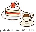 케이크, 케익, 커피 32653440