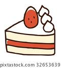 脆餅 草莓游擊手 蛋糕 32653639