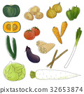 vegetables, vegetable, pumpkin 32653874