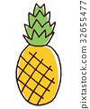 菠蘿 鳳梨 水果 32655477