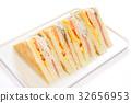 샌드위치, 빵, 음식 32656953