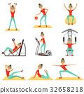 fitness, gym, sport 32658218