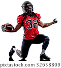 american football player man isolated 32658809