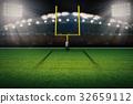 american football field goal post 32659112