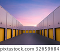 warehouse exterior with doors closed 32659684