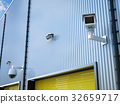 security camera in warehouse 32659717