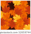 Colorful autumn leaves background 32659744