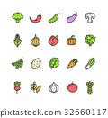 vegetable, food, line 32660117