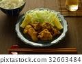 deep-fried, fried food, fried chicken 32663484