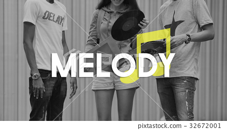 Listen Music Entertain Melody Harmony 32672001