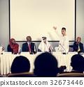Muslim Explaining Speaker Presentation Conference Partnership 32673446