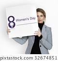 Women International Day Celebration Concept 32674851