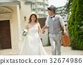 웨딩, 결혼식, 웨딩드레스 32674986