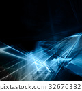 Computer graphics abstract background 32676382