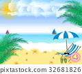 Summer holidays. beach seashore. 32681826
