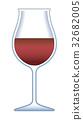 紅葡萄酒 葡萄酒 紅酒 32682005
