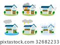 주택 재해 보험 세트 32682233