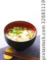 nameko, pholiota nameko, tofu 32683119