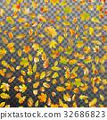 Falling autumn leaves. EPS 10 vector 32686823