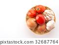 garlic ingredient onion 32687764