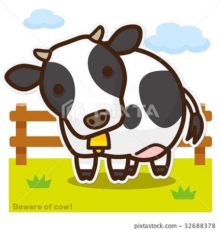 奶牛 牲口 牛 32688378