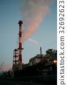火力發電廠 熱力發電 煙囪 32692623