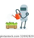 robot, housemaid, character 32692820