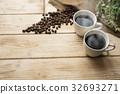 กาแฟร้อนและกาแฟ 32693271