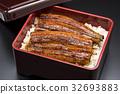 鰻魚飯 鱔魚 一碗鰻魚飯 32693883