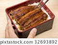 鱔魚 筷子 一碗鰻魚飯 32693892