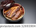 一碗鰻魚飯 鱔魚 烤鰻 32693904