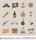 pirate icon 32694104