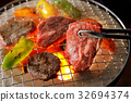 japanese dish of fried meat, korean barbecue, beef 32694374