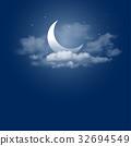 Moonlight night 32694549