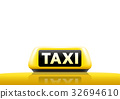 Taxi sign 32694610