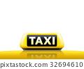 taxi, cab, sign 32694610