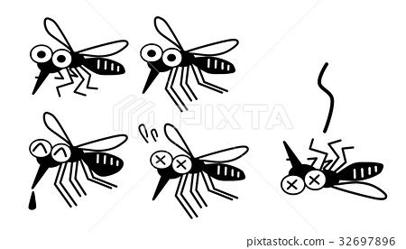 mosquito, mosquitoes, facial expression 32697896