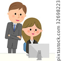 Business scene PC 32698223