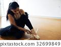 Portrait of Experienced Ballerina 32699849