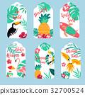 flamingo, hawaiian, toucan 32700524