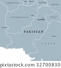 Pakistan political map 32700830