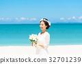 新娘 婚禮 海 32701239