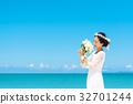 新娘 婚禮 海 32701244